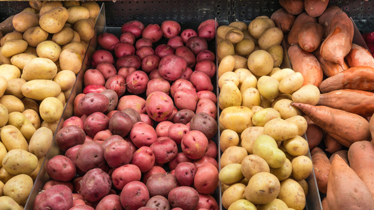 Potato Sales Exceed 5-Year Records