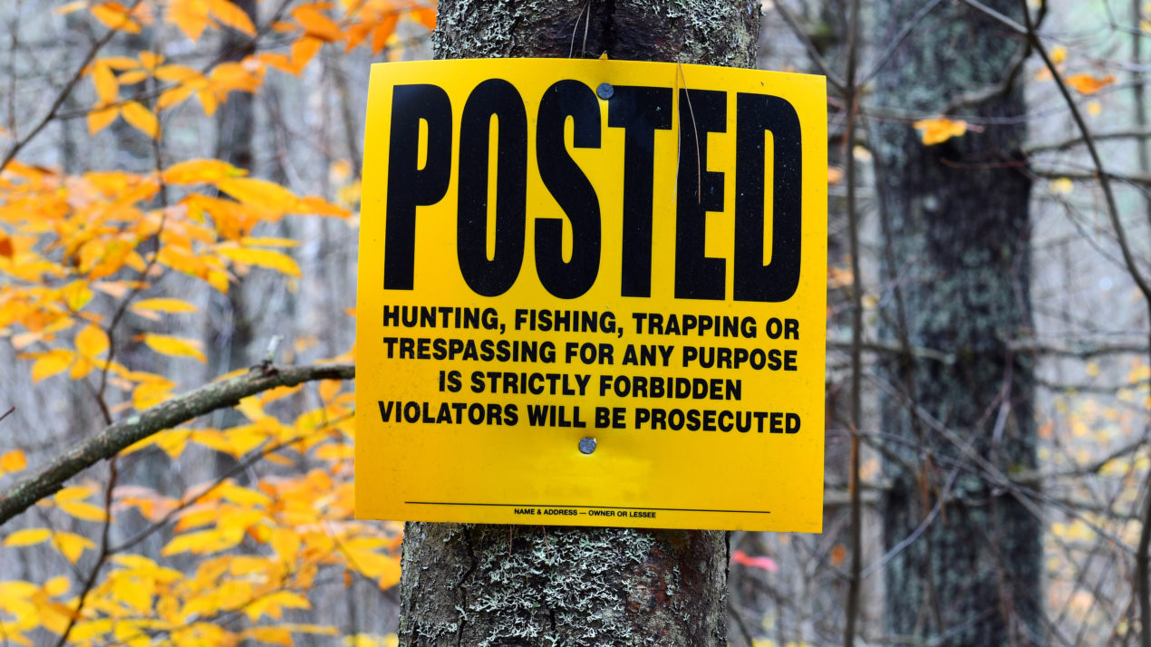 Knowing Wisconsin's Trespass Law Aids in Safe Hunting Season