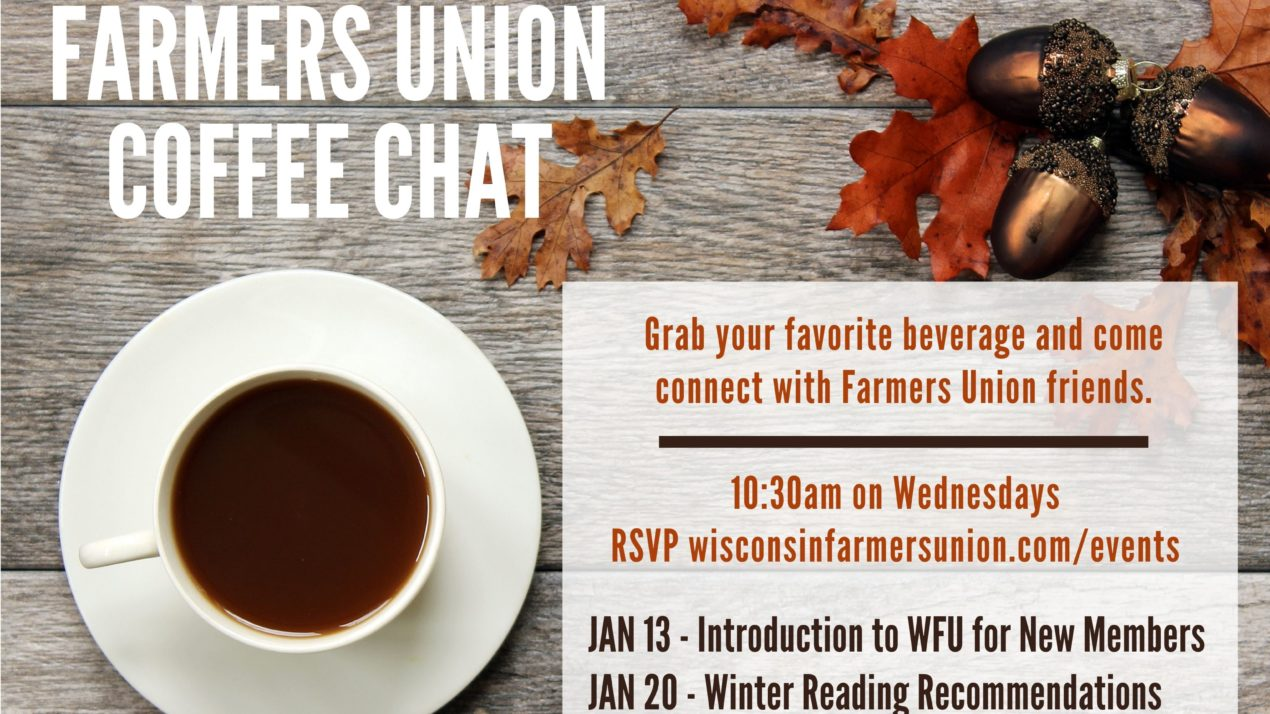 Farmers Union Coffee Chat series sparks connections