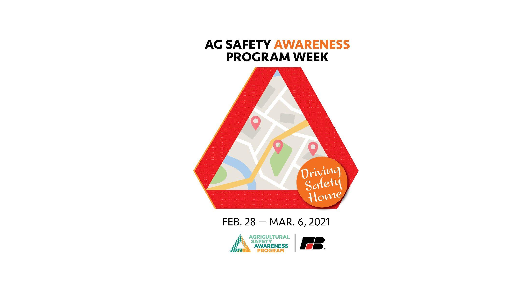 Agricultural Safety Awareness Program Week Kicks-off Next Week