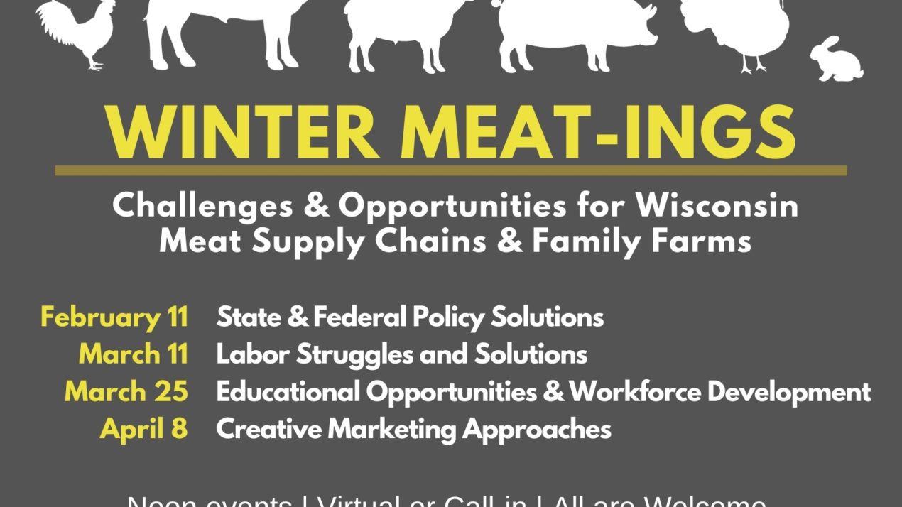 Upcoming Event Highlights Policy Solutions for Meat Processing