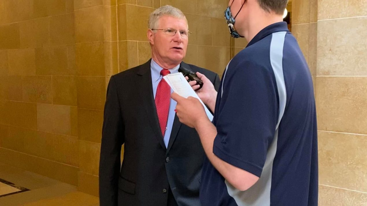 Senator Marklein discusses importance of agriculture ahead of joint finance meeting