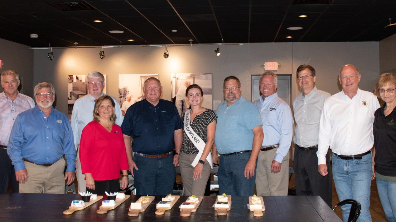 Ag Committee Rep Visits Wisconsin