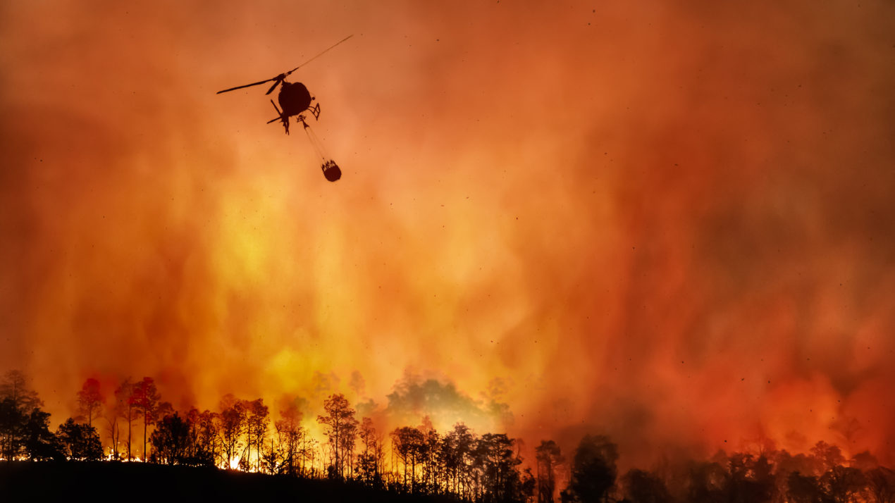 Midwesterners Help Fight Western Fires