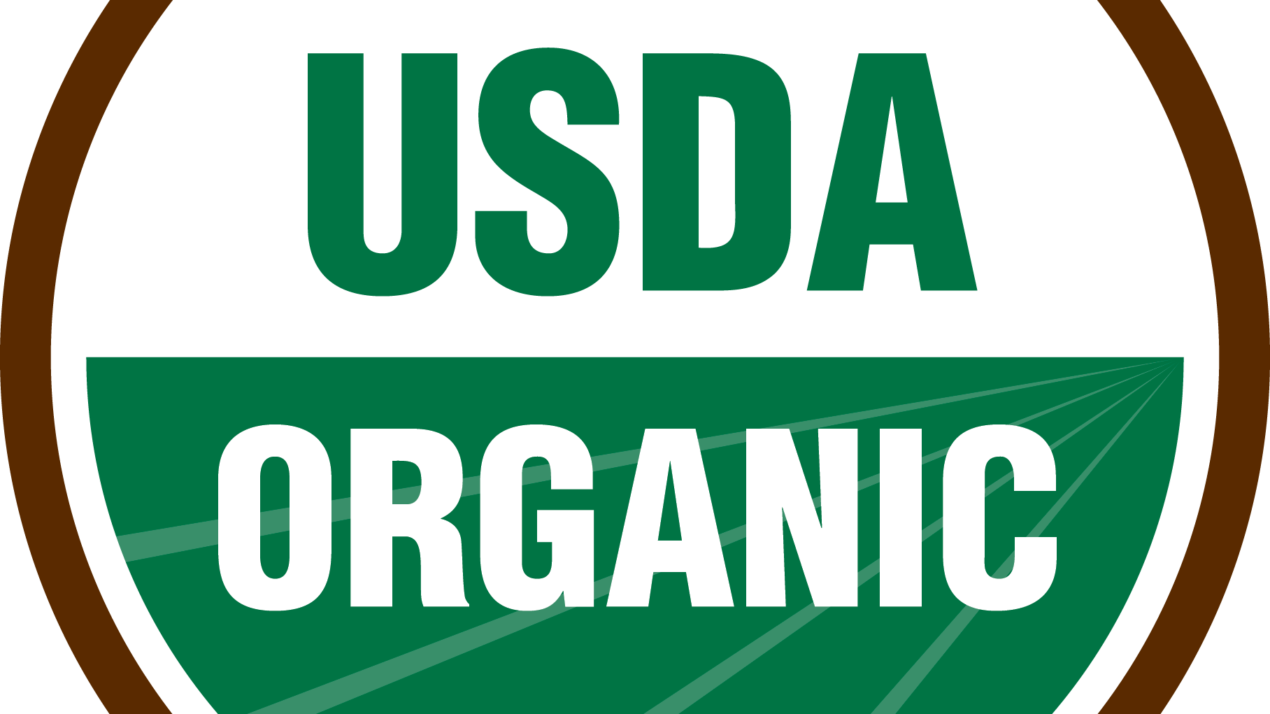 USDA To Cover Organic Certification