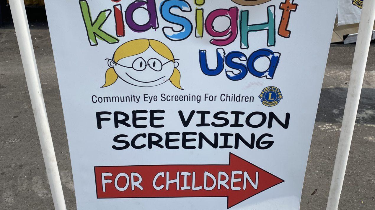 Vision Screening At State Fair