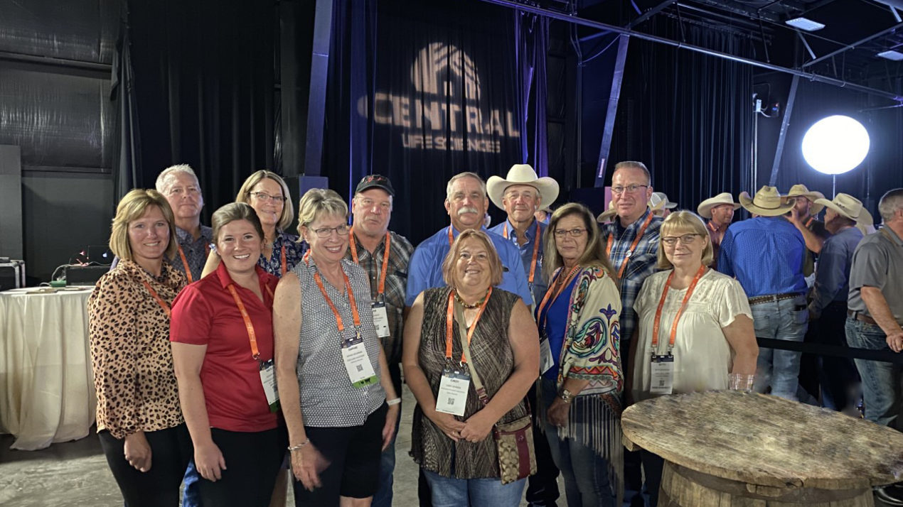 Wisconsin Represented At Cattle Convention